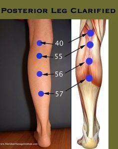 TU SALUD Y BIENESTAR : 4 Puntos para aliviar el dolor de espalda.