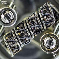 Ok,Here ya the build of Helix slanted corrugated framed dillo, spec are: 8ply .4 KA1 and N80 corrugated,helix with micro clapton 38/38 light hammered for the surface,framed with Dillo 27#AN80|.3 N80,metering @.26,ID 3mm,extension 20#AN80 mounting on phenotype L RDA.. I have very limited time,so i will submitted this build as #GOONBUILDOFF in #goonbuildofftier3 There's a lot of decent build in this buildoff, i really want to participating among all the best builders in build scene,best luck…