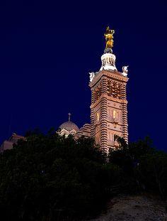 Notre Dame de la Garde. Marseilles 2013