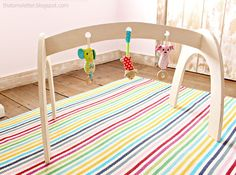 Ana White | Build a Wood Baby Gym | Free and Easy DIY Project and Furniture Plans