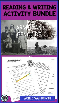 In this Armenian Genocide bundle, you will receive 3 different lessons regarding the genocide. It will include PPT and video links, a guide on how to take notes, position documents, and essay prompts. American History Lessons, World History Lessons, Secondary Resources, Secondary Teacher, History Teachers, Teaching History, Kindergarten Homeschool Curriculum, Homeschooling, History Lesson Plans