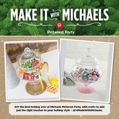 Michaels Pinterest Party Top 10 DIY Craft Projects