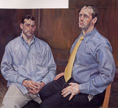 Two Brothers from Ulster, 2001 - Lucian Freud