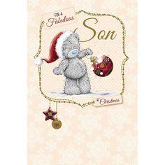 Son Me to You Bear Christmas Card  £2.49