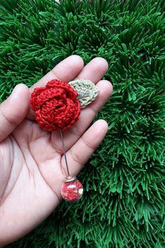 Crochet Flowers, Crochet Earrings, Jewelry, Fashion, Jewlery, Moda, Jewels, La Mode, Jewerly