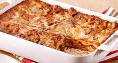Easy Meat Lasagna: No precooking is required for the lasagna noodles in this lasagna. The noodles become tender as the lasagna bakes.