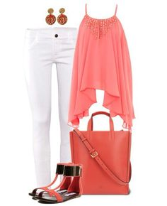 Love the coral color.