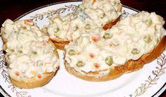 Jak udělat domácí rybí salát | recept Baked Potato, Mashed Potatoes, Salads, Keto, Baking, Ethnic Recipes, Food, Sandwich Spread, Pisces