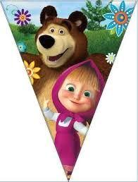 Resultado de imagem para masha and the bear birthday
