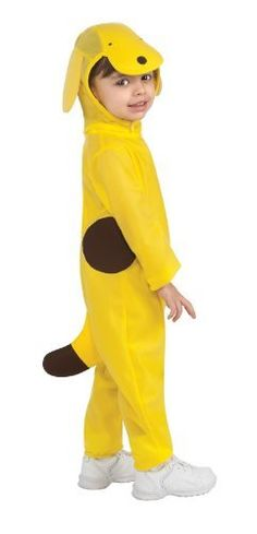 Tiny Tikes Spot the Dog Costume, Yellow, Toddler Rubie's Costume Co. $15.77. Jumpsuit is perfect for the little one when trick-or-treating, light weight fabric. Salspot officially licensed costume, look for other wonderfully sweet rubie's children's costumes. Hand Wash. 100% Polyester. Headpiece with flappy ears and velcro closure. Spot the dog is a series of children's books by eric hill, which were later made into a popular children's animation series, known ...