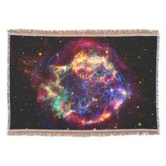 NASA Cassiopeaia galaxy - beautiful rainbow colours