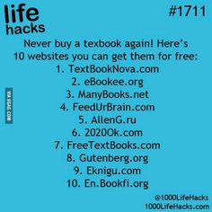 10 Websites For Free Textbooks - Never Buy A Textbook Again! life hacks for school life hacks 10 Websites For Free Textbooks - Never Buy A Textbook Again! life hacks for school life hacks for men Simple Life Hacks, Useful Life Hacks, Life Hacks Websites, Awesome Life Hacks, Free Movie Websites, Online Websites, Cool Websites, Organization Ideas For The Home Diy, College Organization