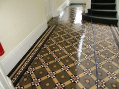 victorian tiled hallways - Google Search