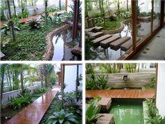 Varanda, piscina, espelho dágua e caramachã e pergola - Josiane Gomes Ribeiro - Álbuns da web do Picasa