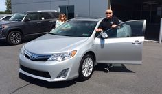 Paul Blaine shows off his beautiful 2014.5 Camry Hybrid!