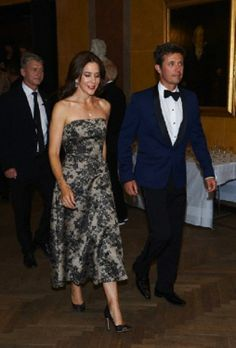 HRH Crown Prince Frederik and HRH Crown Princess Mary of Denmark attends the Reumert Award 2014 at The Royal Danish Theatre in Copenhagen, 22.06.2014.