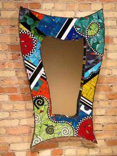 DIY Gorgeous Mosaic Mirror