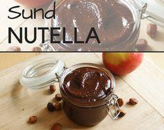 Hjemmelavet Nutella, der tilmed er sundere og smager fuldstændig fantastisk.