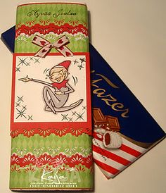Yum!  Candy bar wrapper by Kaija