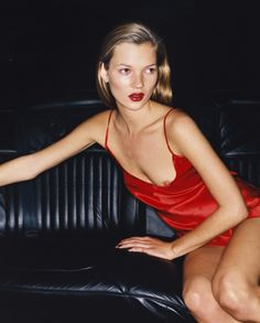Kate Moss by Juergen Teller for Vogue 1994