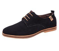 iLoveSIA homme chaussures de ville hiver fourrées,FR Pointure 37-45