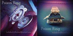 POISON RING ONLINE CLASS Poison Ring, Rings Online, Gemstone Rings, Rings For Men, Gemstones, Funny, Jewelry, Men Rings, Jewels
