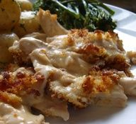 Recipe for Chicken Cordon Bleu Casserole - his dish has all the flavor and taste of Chicken Cordon Blue, but in a casserole. As you all can tell, I love One dish and make ahead wonders!
