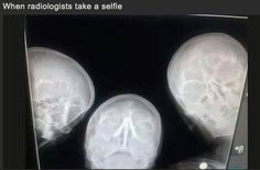 Radiologists take a 'Selfie'