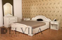 Mobila dormitor CRISTINA alb