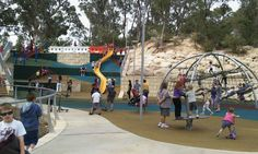 Meadow Springs Quarry Adventure Park Mandurah - Buggybuddys guide for families in Perth Stuff To Do, Things To Do, Dad Day, Family Day, Perth, Activities For Kids, Places To Go, Dads, Adventure