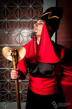 TWISTED (Aladdin) #Jafar #Disney #cosplay - Aquecimento Anime Family 2013