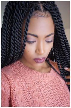Senegalese Twist Braids, Senegalese Twist Hairstyles, Senegalese Twist Medium, Crochet Senegalese, Cornrows, Box Braids Hairstyles, Black Hairstyles, Wedding Hairstyles, Medium Twist Braids