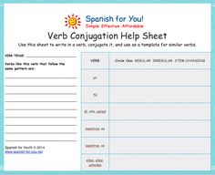 Free Decimal Place Value Worksheets Word Spanish Worksheets Printables  Printable Spanish Regular Ar  Part Of Plants Worksheet Excel with Calculating Perimeter Worksheets Excel Free Simple Worksheets Some Including Audio To Supplement Any Elementary  Or Middle School Spanish Learning Teaching Numbers To Preschoolers Worksheets Excel