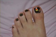butterfly toe nail art designs | Perfect Toe Nail Designs Toe-Nail-Designs-2013 – WomenNailArt