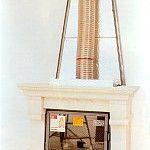 Fabrication d'une hotte de cheminée en images.