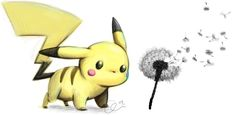 I still secretly love Pokemon and created this image to possibly get a tattoo of on my foot one day. It represents my childhood and how amazing it was. The dandelion represents my dreams. :)