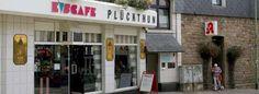 Das Eiscafe Plückthun in Essen-Kupferdreh.