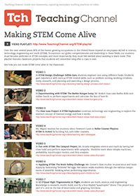 Videos and Resources for Making STEM Come Alive