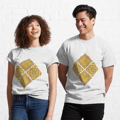 """Ornmental pattern no.33 version 2"" T-shirt by Lenka24   Redbubble"