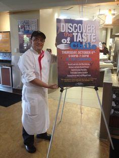 Chilean Chef David Calquin headed up the Sodexo global chef program at KSU: