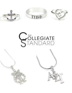 "☆☆ Sorority GRAD Pref Promo Code! ☆☆  Spoil your GRAD with sweet sparkle from The Collegiate Standard. USE CODE: ""GRAD2015″ for 5% off your order! VALID UNTIL: Spring 2015. THE COLLEGIATE STANDARD! http://www.thecollegiatestandard.com"