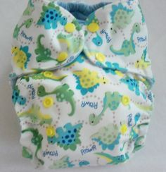 One Size Fits All OS Cloth Pocket Diaper With PUL by DydeeDaze, $18.00