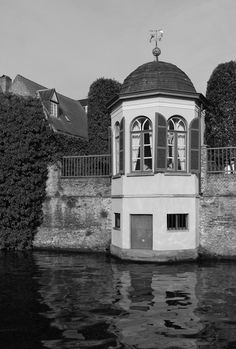 Canal-side Folly, Bruges, Belgium