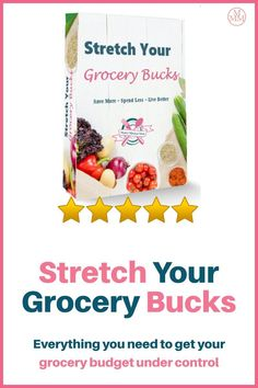 If you are looking to save time in the kitchen and money on food, then you are going to want to check out the Stretch Your Grocery Budget Binder. The planner was intentionally designed to help you make the most of your time and money by focusing on key aspects that trip us up. The binder has meal plans that you can use for a family of one, two, four or ten and for a weekly and monthly planning. Family Meal Planning, Budget Meal Planning, Meal Planning Printable, Financial Planning, Groceries Budget, Save Money On Groceries, Ways To Save Money, Money Tips, Save On Foods
