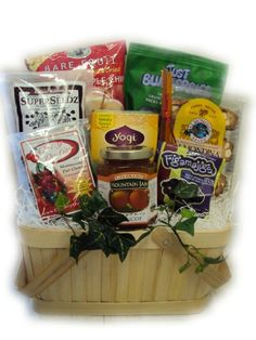 Low-Sodium Heart Healthy Gourmet Food Gift Basket for Sodium-Restricted Diets