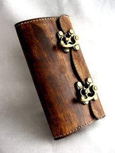 Luxry Handmade  rustic brown  leather iPhone 6s by totemscrafts