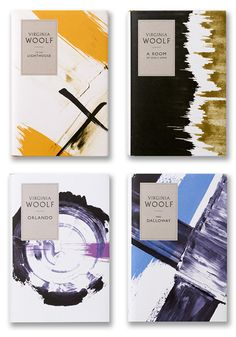 Pretty Books Redesigned : Virginia Woolf