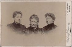 Cabinet photo 3 Victorian Ladies Dress Fashion - Lavender of Bromley Kent 1890s
