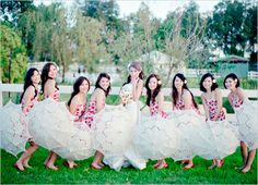 Parasols in Weddings