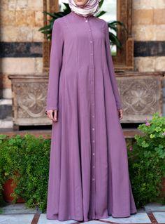 Did we mention this has pockets? From SHUKR Islamic Clothing Abaya Fashion, Muslim Fashion, Fashion Outfits, Fasion, Women's Fashion, Muslim Long Dress, Hijab Dress, Hijab Outfit, Islamic Clothing